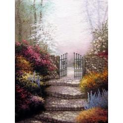 """Картина написанная маслом  """"Врата"""" - 40 x 50 см"""