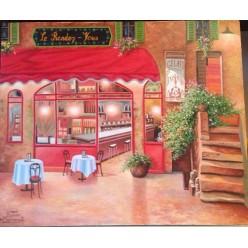 """Картина написанная маслом """"Аромат Франции"""" - 50 x 60 см"""