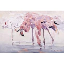 """Картина """"Фламинго"""" – 60 х 90 см."""