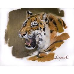 """Картина """"Тигр"""" 40 х 45 см."""
