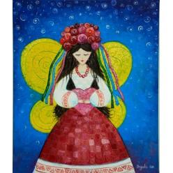"""Картина """"Молитва за Украину"""" – 50 х 60 см, 2014 г."""