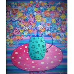 """Картина """"Святковий букет"""" – 50 х 60 см, 2014 г."""