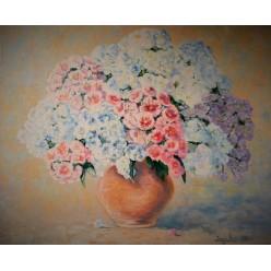 """Картина """"Букет с дачи"""" – 60 х 50 см, 2014 г."""