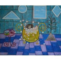 """Картина """"Чистюля"""" – 60 х 50 см, 2011 г."""