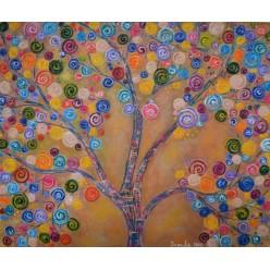 """Картина """"Цвет весны. 2014"""" - 50 x 60 см"""