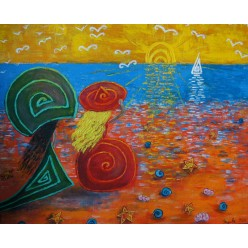 """Картина """"Ещё один прекрасный день. 2011"""" - 50 x 40 см (ГИ-051)"""