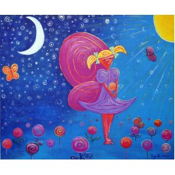 "Картина ""Фея. 2010"" - 50 x 60 см"
