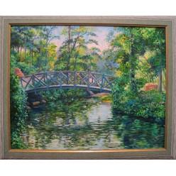 "Картина ""Мостик в Умани. 2006"" - 60 x 50 см (ГИ-054)"