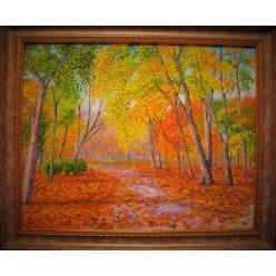 """Картина """"Осень. 2006"""" - 40 x 50 см (ГИ-058)"""
