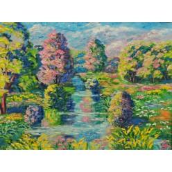 """Картина """"Утро. 2007"""" - 40 x 50 см"""