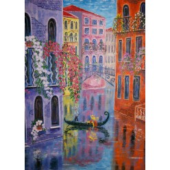 "Картина ""Зеркало воды. 2012"" - 60 x 50 см (ГИ-052)"