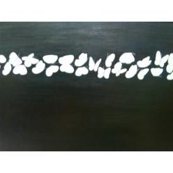 """Картина написанная маслом  """"Бабочки. Несостоявшийся похорон надежд. 2004"""" - 100 x 80 см"""