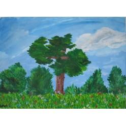 "Картина ""Легкий ветер"" - 30 х 40 см."