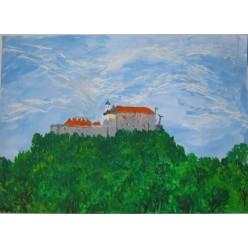 """Картина """"Замок Паланок"""" - 30 х 40 см."""