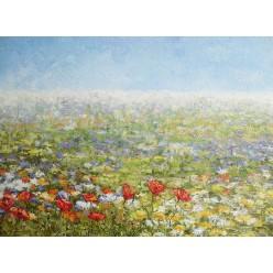 """Пейзаж """"Весеннее настроение"""" – 30 х 40 см, 2013 г."""