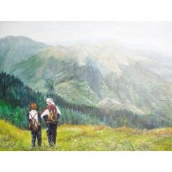 """Картина """"Мандрівники"""" – 70 х 50 см, 2012 г."""