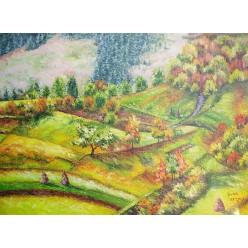 """Картина """"Осінь в Карпатах"""" – 50 х 40см, 2013 г."""