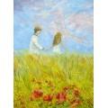 """Великолепная картина """"Верные друзья"""", - 70 х 50 см, 2012 г."""