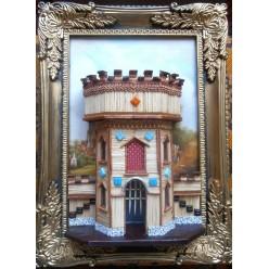"""Картина """"Крепость 2"""" -  18х24см"""