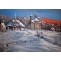 """Картина """"Зима в Пирогово"""" - 50 х 70 см."""