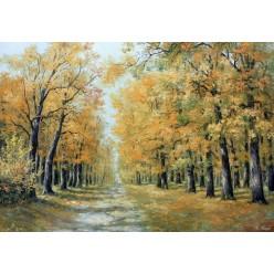 """Картина """"Осень в парке"""" - 50 х 70 см."""