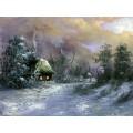 "Картина ""Ночь в Рождество"" – 40 х 50 см."