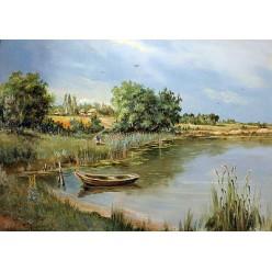 """Картина """"Родной пейзаж"""" – 50 х 70 см."""