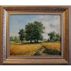 """Картина """"Летний пейзаж"""" – 58 х 68 см, 2014 г."""
