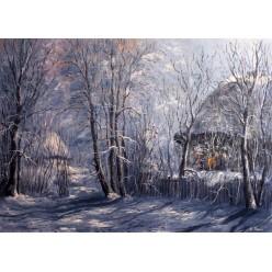 """Картина """"Лунная ночь"""" – 50 х70 см, 2013 г."""