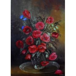 """Картина """"Маки"""" – 50 х 70 см, 2012 г."""