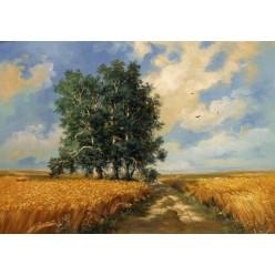 """Картина """"Полдень в поле"""" – 50 х 70 см."""