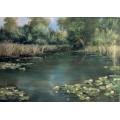 "Картина ""Старый пруд"" – 50 х 70 см, 2013 г."