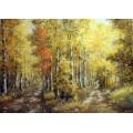 """Картина """"Теплая осень"""" – 50 х 70 см, 2013 г."""