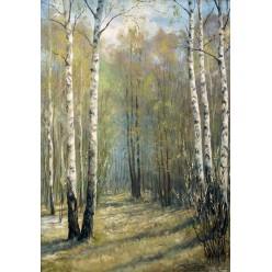 "Картина ""Весна"" – 50 х 70 см, 2013 г."