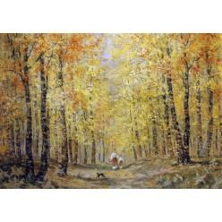"""Картина """"За грибами"""" – 50 х 70 см, 2012 г."""