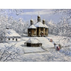 """Картина """"Зима"""" – 50 х 70 см."""