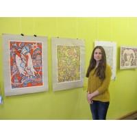 В Киеве пройдет выставка картин слабослышащих художниц «Краски мира тишины»