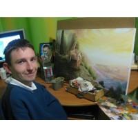 Вадим Мартынюк: Хорошо, что я никогда не учился рисовать