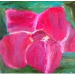 "Картина ""Орхидея""  - 76х76 см, 2017 год"