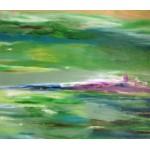 """Картина """"Зелений гай""""  - 80х90 см, 2017 год"""