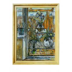 """Картина """"Зеленый праздник, или Святая Троица"""", 1998, масло, холст, 80x65 см"""