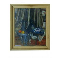 """Картина """"Натюрморт в мастерской"""", 1995, масло, картон, 50x60 см"""