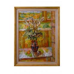 "Картина ""Осенний натюрморт"", 1989, масло, холст, 70x50 см"