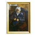 """Картина """"Портрет моей бабушки"""" 1997 год, выполнена маслом на картоне - 70 x 50 см"""