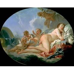 """Репродукция картины Франсуа Буше """"Спящая Венера"""" (FBC-1006)"""