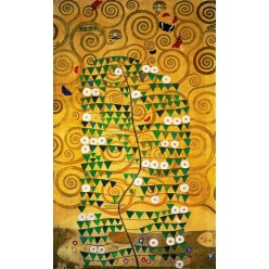 """Репродукция картины Густава Климта """"Панно для столовой дворца Стокле"""" (GVK-6179)"""