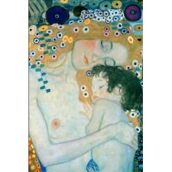 """Репродукция картины Густава Климта """"Три возраста женщины"""", фрагмент (GVK-6172)"""