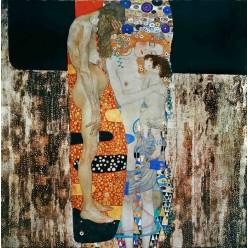 """Репродукция картины Густава Климта """"Три возраста женщины"""" (GVK-6170)"""