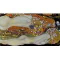 """Репродукция картины Густава Климта """"Водяные змеи II"""" (GVK-6181)"""