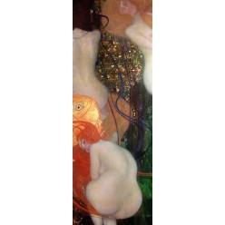 """Репродукция картины Густава Климта """"Золотая рыбка"""" (GVK-6184)"""